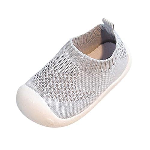 Zapatos de Niños pequeños para bebés,Riou Chicos y Chicas de Color Caramelo Que vuelan Tejido Deportivo de Tela elástica Zapatos Casuales Correr Malla ...