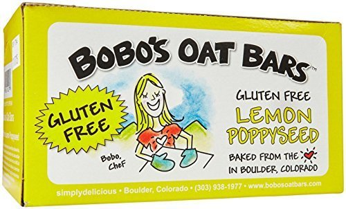 Bobo's Oat Bars Lemon Poppy Seed - 3 oz - 12 Pack