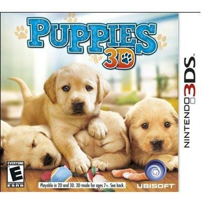 Exclusive Puppies 3DS By Ubisoft
