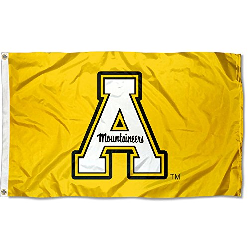 Appalachian State University Yellow Flag Large 3x5