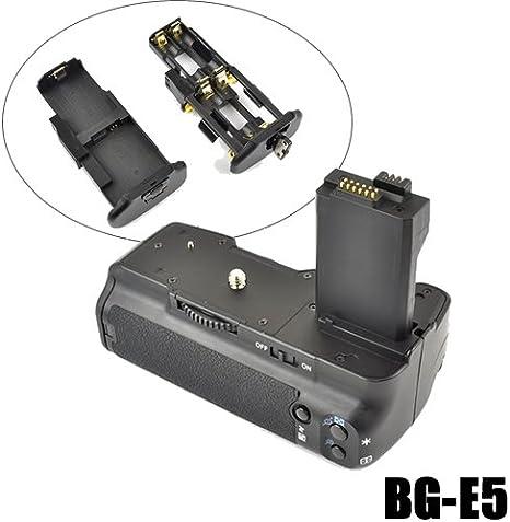 Empuñadura DynaSun E5 Battery Grip para EOS 450D 500D 1000D DSLR ...