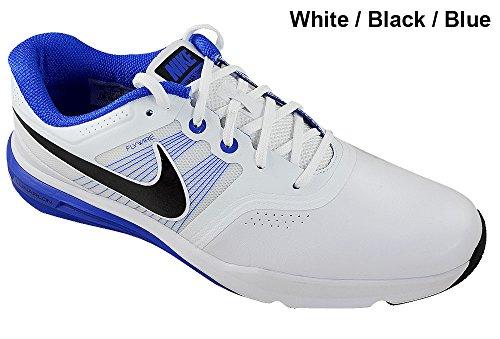 Nike Golf Men's Lunar Command White/Lyon Blue/Black Sneak...