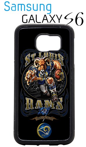 Saint Louis Rams Samsung Galaxy s6 Case Hard Silicone Case by Unknown