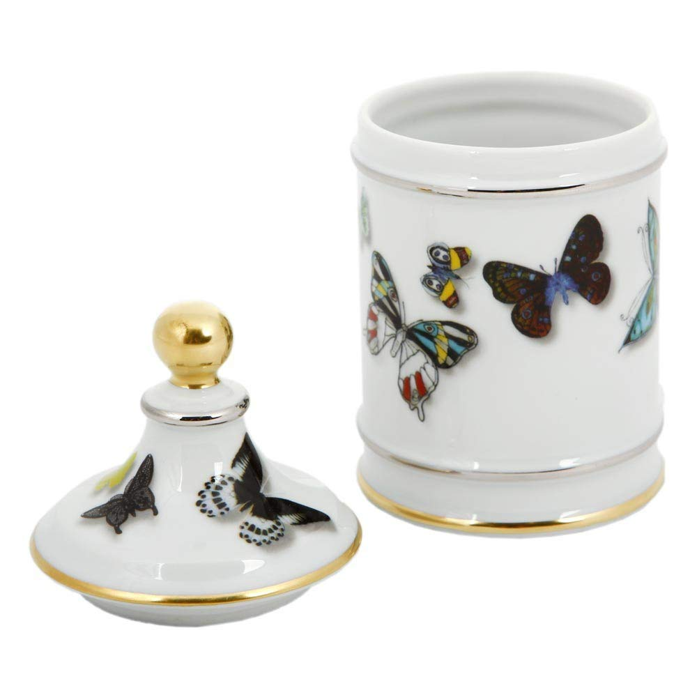 Vista Alegre Christian Lacroix Butterfly Parade Sugar Bowl