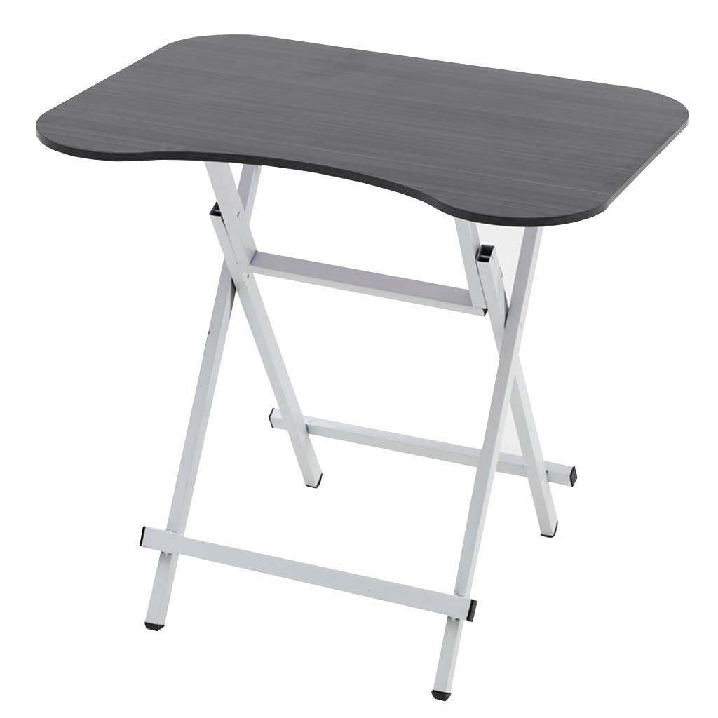 TJTG End Tables Folding Table Dining Table Home Small Apartment Small Table Simple Outdoor Portable can be Set to Eat Table Square Table Simple Home Office Desk