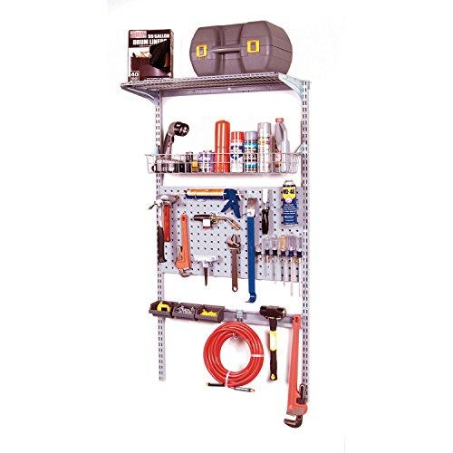 Triton Products 1785 33-Inch L x 63-Inch H Single Lock Board System