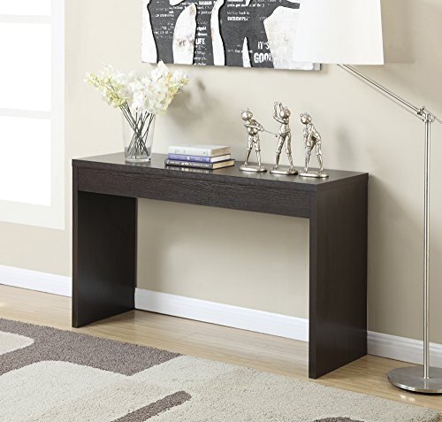 Convenience Concepts Northfield Hall Console Table, (Espresso Finish Sofa Table)