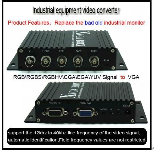 8219 MDA RGB CGA EGA to VGA Industrial Converter for CNC SMT Monitor Replacement : Mazak Fanuc Mitsubishi Siemens Hitachi Ge Matsushita Mazak Heidenhain Tatung Totoku Magnetek Toshiba ()