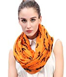 This halloween bat print infinity loop scarf is very comfortable to wear, soft and adds perfection to your clothing. You can prefer wearing the scarf either every day to work or on special occasions. And a scarf is a great way to add style to your ou...