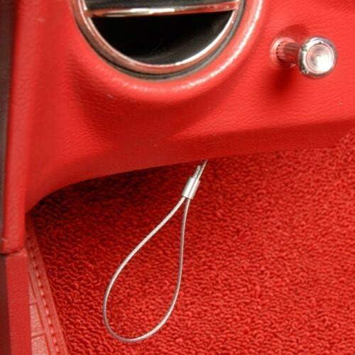 C3 Corvette Emergency Hood Release Cables Kit For 1968-1982 Chevrolet Corvette