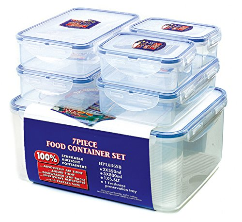 - Lock & Lock Food Storage Set 6 Piece