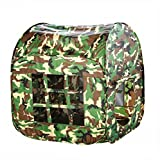 Mallya Army Green Camouflage Pop up Play Tent Great for kids Indoor and Outdoor
