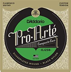 D'Addario Flamenco sets are constructed using a new variation of our exclusive multifilament stranded core material, which dramatically improves the life and tuning consistency of the wound strings when compared to traditional nylon cores. Th...