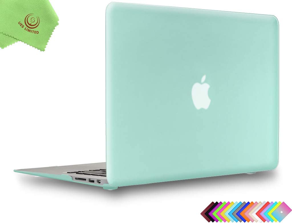 UESWILL Smooth Touch Matte Hard Shell Case Cover for MacBook Air 11 inch (Model A1370 / A1465), Green