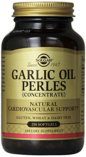 Solgar - Garlic Oil Perles Supplement, 250 Softgels