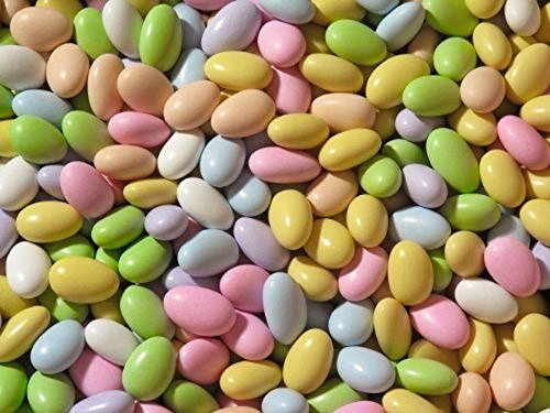 Jordan Almonds by Its Delish (Assorted, 3 lbs)