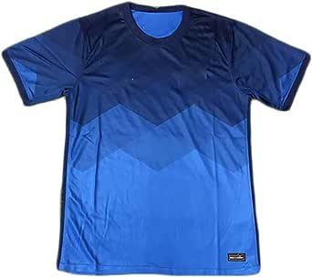 HGTRF Camiseta Deportiva de fútbol para niños Temporada 2020 Brasil Kasmirski Camiseta de fútbol visitante de Secado rápido y Transpirable, Sudaderas para Hombres y Mujeres
