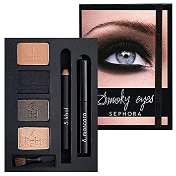 Amazon com : Sephora Beauty In A Box Smoky Eyes Palette ($50 Value