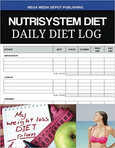 buy nutrisystem diet daily diet log book online at low prices in