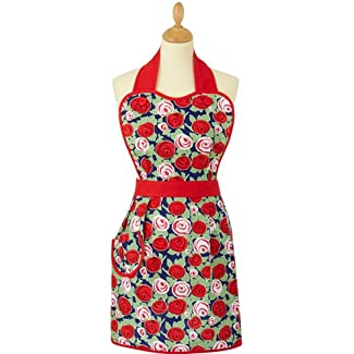 Vintage Rose Apron by Ulster Weavers