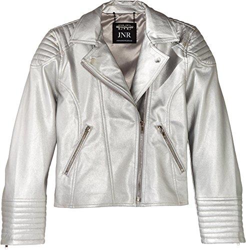 Silver Moto Jacket - 5