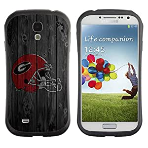 Paccase / Suave TPU GEL Caso Carcasa de Protección Funda para - Gladiator Sports Team - Samsung Galaxy S4 I9500