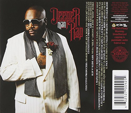 Rick ross deeper than rap album download zip