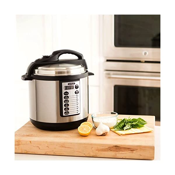 BELLA 10-In-1 Multi-Use Programmable Pressure Cooker, Slow Cooker, Rice Cooker, Steamer, Sauté Warmer with Searing and… 5