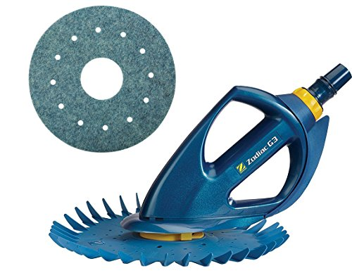 Baracuda G3 W03000 Advanced Suction Side Automatic Pool Cleaner with Additional Scrub Disc