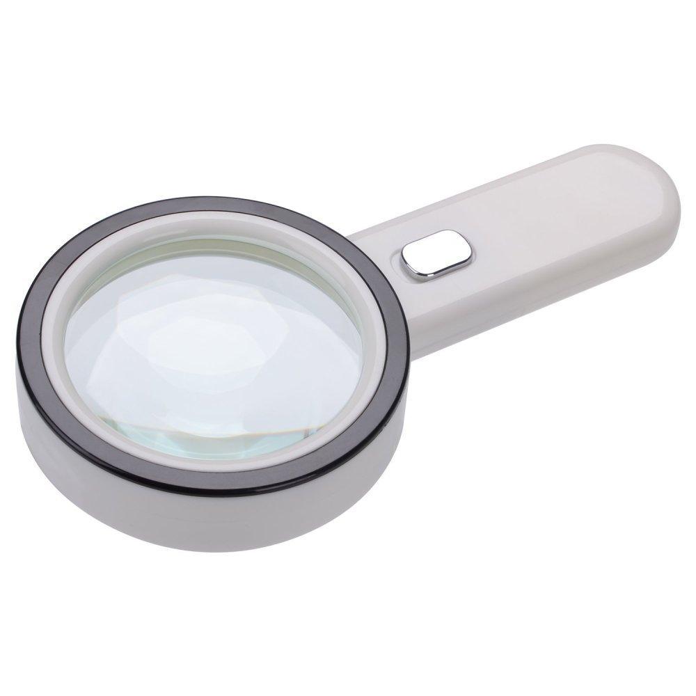 Magnifying glass Lente d'Ingrandimento-30X Lente di Ingrandimento A Mano con Lente di Vetro Ottico Usata per Leggere La Valutazione dei Gioielli, 100mm fangdajingchang