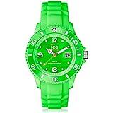 Ice-Watch Sili Collection SI.GN.U.S.09 - Reloj analógico unisex de cuarzo, correa de silicona, color verde