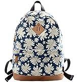 Veenajo Casual Backpack Daypack Laptop Backpack Cute School Bag for Teen Girls