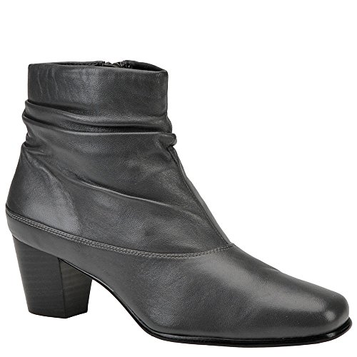 David Tate Womens Vera Boot,Grey (Lambskin Leather Platforms)