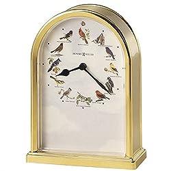 Howard Miller Songbrids of North America III Musical Table Top Clock