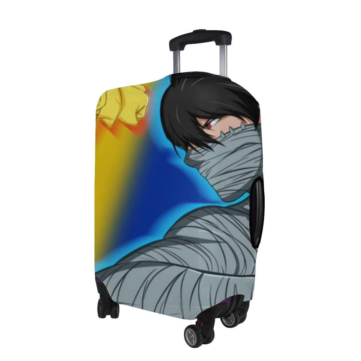 Maxm Bleach Naruto Naruto Vs Ichigo Crossover Naruto Shippuden Pattern Print Travel Luggage Protector Baggage Suitcase Cover Fits 18-21 Inch Luggage
