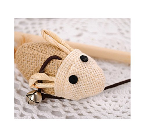 HOT-Sale-2017-Wooden-Pole-Hemp-Mice-Mouse-Tease-Cats-Rods-Plaything-Environmental-Fashion-Wood-Pet-Toys