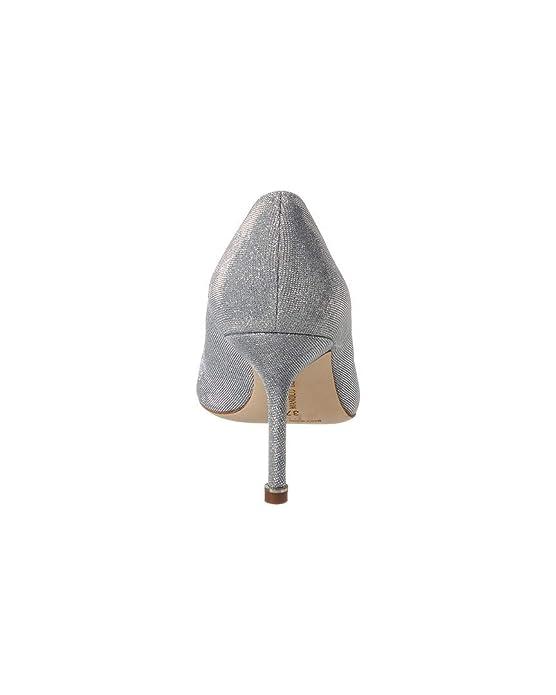 34973c71fe251 Amazon.com | Manolo Blahnik Hangisi Notturno Bride 90 Metallic Fabric Pump,  36, Metallic | Pumps
