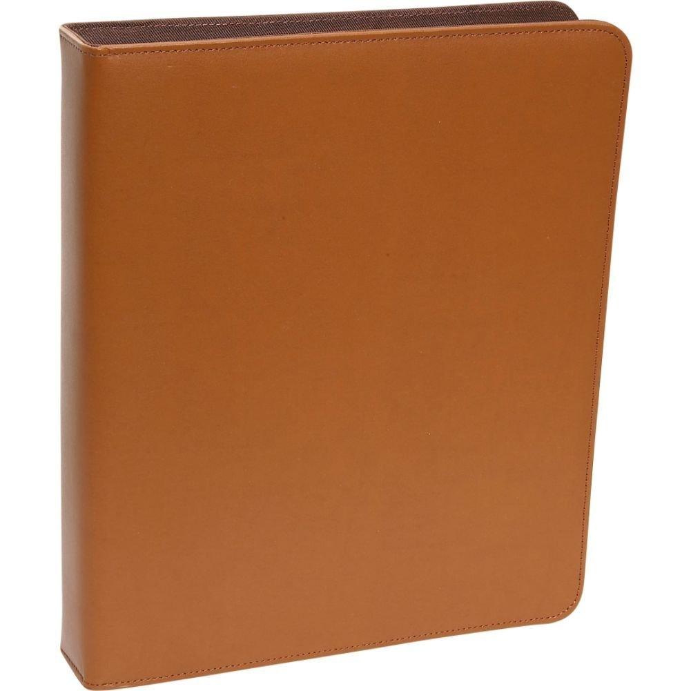 Royce Leather 1 Inch Ring Binder, Tan