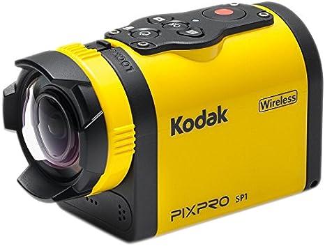 Kodak - Cámara de acción Full HD 1080p, Color Amarillo y Negro: Amazon.es: Electrónica
