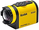 Kodak PIXPRO SP1 Action Cam with Aqua Sport Pack 14 MP Waterproof, Full HD 1080p Video, Digital Camera and 1.5'' LCD Screen (Yellow)