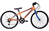 Tiger Warrior 24' Wheel Boys Orange Mountain Bike Age 9-11 Approx