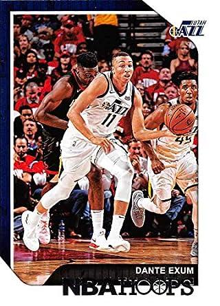 Amazon Com 2018 19 Panini Hoops 140 Dante Exum Utah Jazz