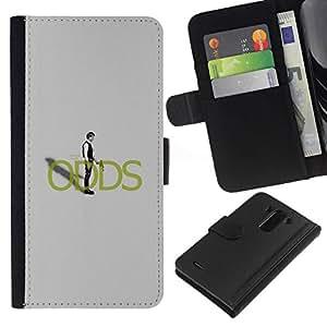 NEECELL GIFT forCITY // Billetera de cuero Caso Cubierta de protección Carcasa / Leather Wallet Case for LG G3 // Han Solo de Apuestas