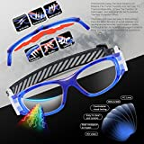 PONOSOON Sports Goggles Glasses for Kids for