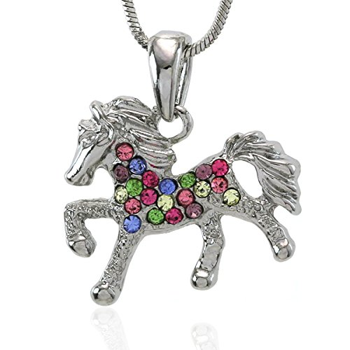 Horse Charm Necklace - 4