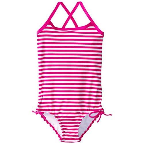 Kanu Surf Girls Bali Beach Sport Banded 1 Piece Swimsuit