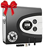 Automotive : P.I. Auto Store - Premium 12V DC Tire Inflator Air Compressor Pump, Portable Digital. Best for Car, RV, ATV,SUV Motorcycle, Bike. With Carry Case