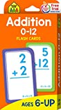Books : Addition 0-12 Flash Cards