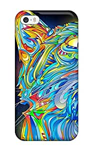 John B Coles's Shop S95U980ZOXXHK07V Sanp On Case Cover Protector For Iphone 5/5s (colorful Cat)