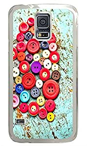 Samsung Galaxy S5 Buttons PC Custom Samsung Galaxy S5 Case Cover Transparent